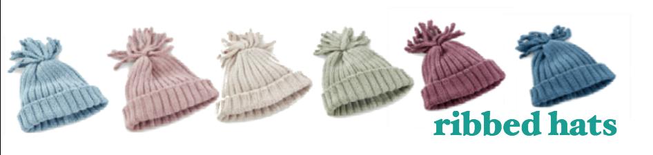 Ribbed Hats